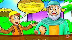 قصة الفتى الذكي والملك