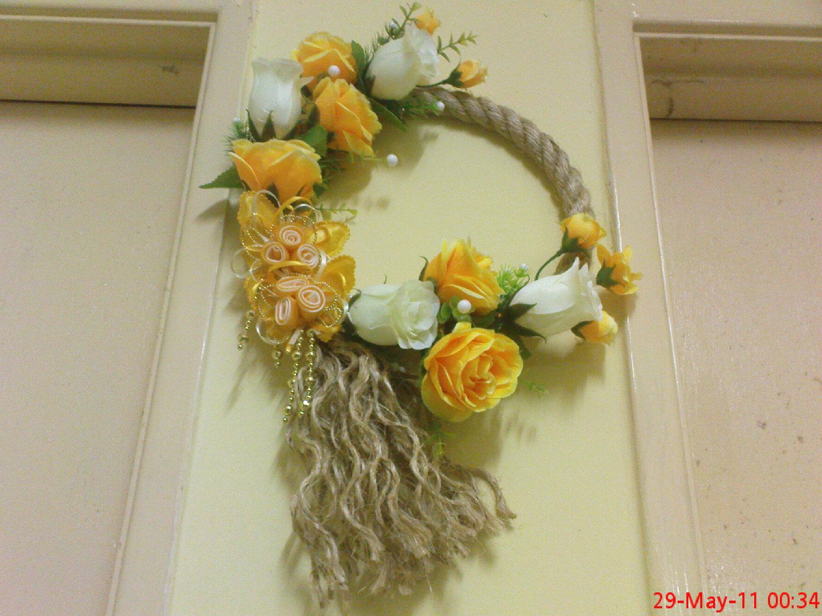 Gubahan Bunga Dinding Ikatan Kasih