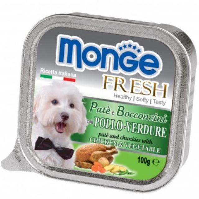 Pate Monge Chicken Vegetabel vị gà rau củ