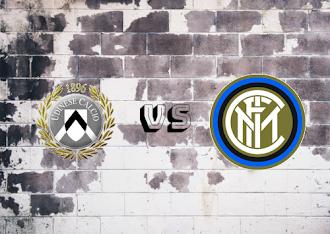 Udinese vs Internazionale  Resumen y goles
