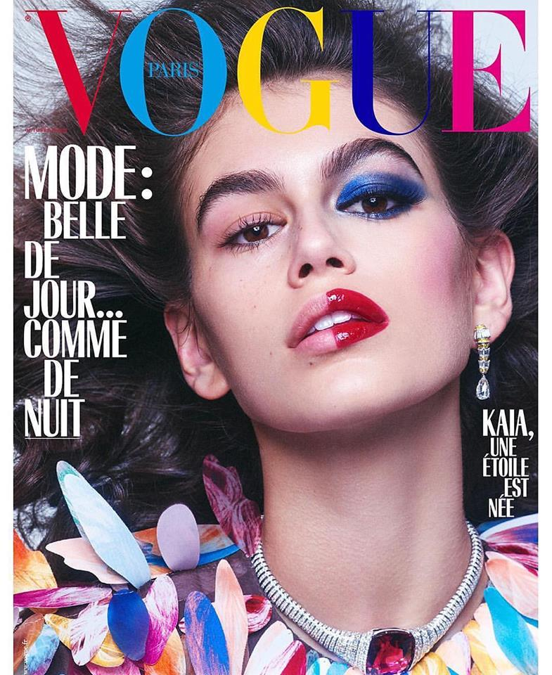 Kaia Gerber for Vogue Paris October 2018