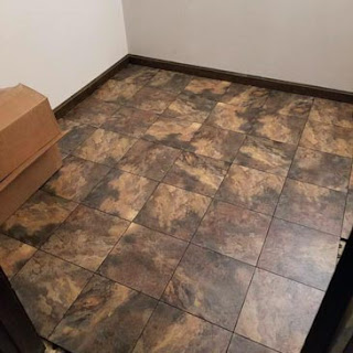 Greatmats Max Tile Raised floor tile slate surface vinyl