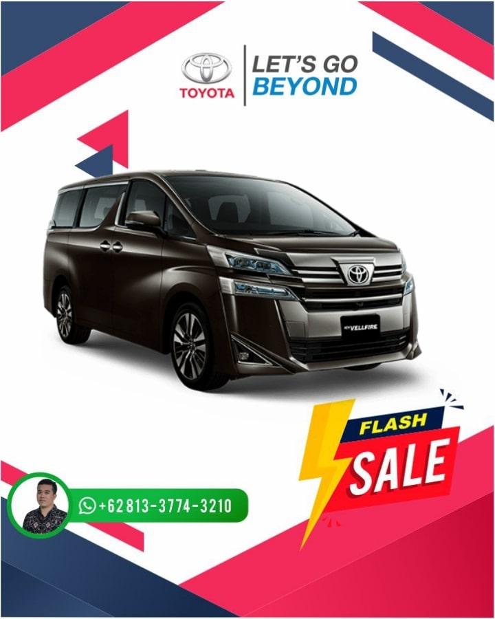 Harga Promo Toyota Vellfire Bali