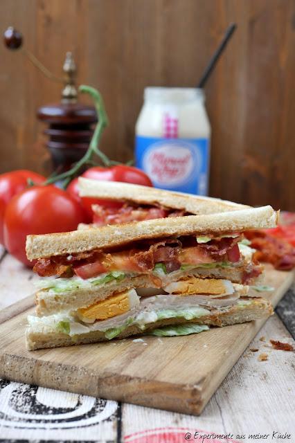 New York Club Sandwich | Rezept | Essen | Picknick | Fingerfood