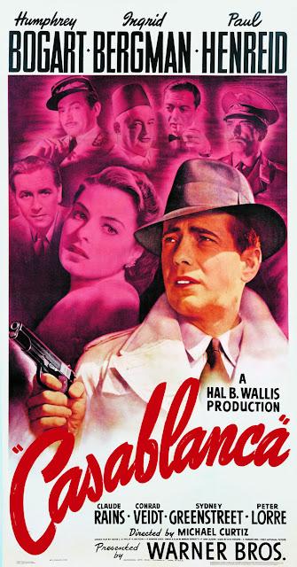 Póster película Casablanca