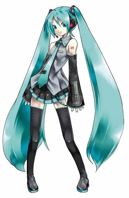 hatsune miku vocaloid character
