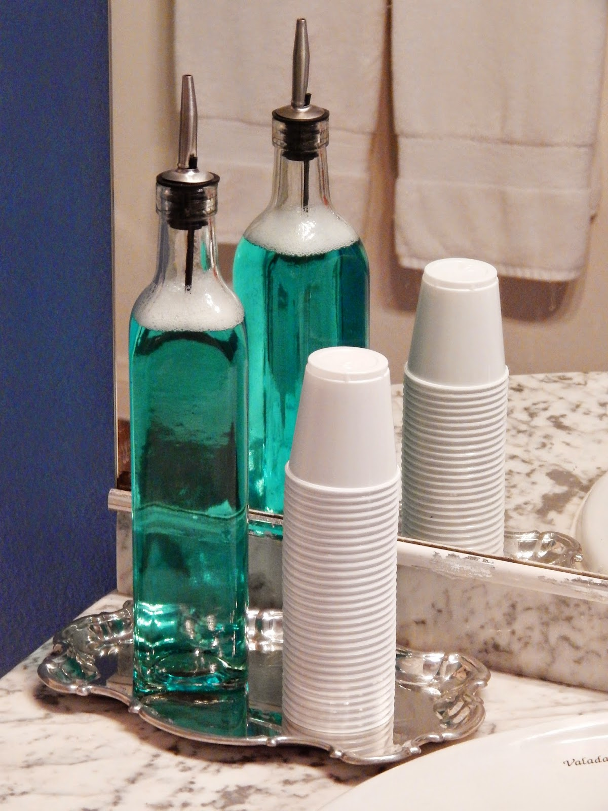 Elegant Mouthwash Bottle