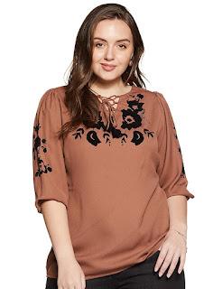Women's Plain Regular Fit Top
