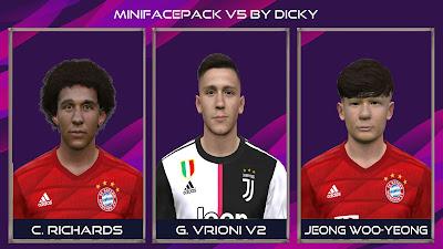 PES 2017 Facepack V5 by Dicky