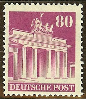 Germany Post WW II- Brandenburg Gate