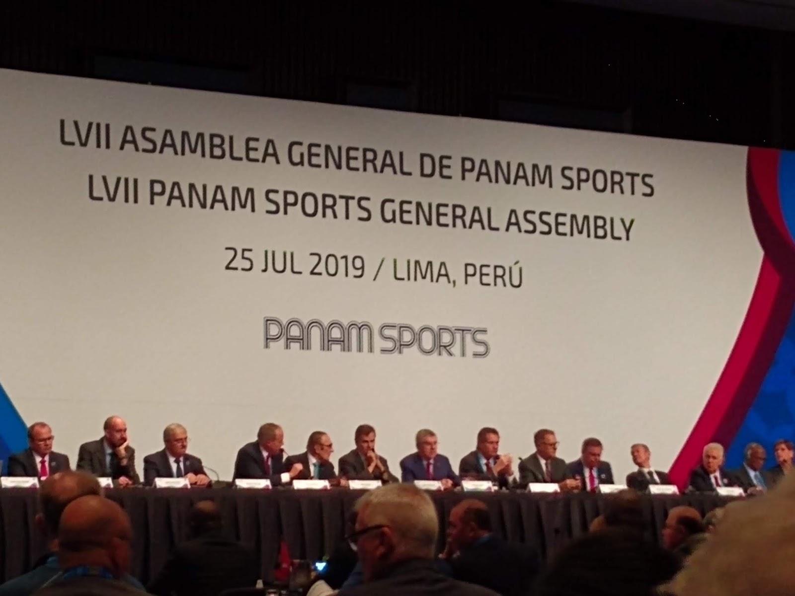 Renovação e igualdade de gênero marcam a 57ª Assembleia Geral da PanAm Sports