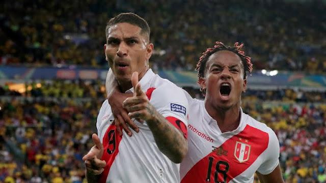 Peru's First goal