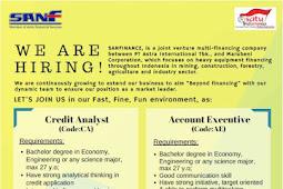 Lowongan Kerja PT Surya Artha Nusantara Finance
