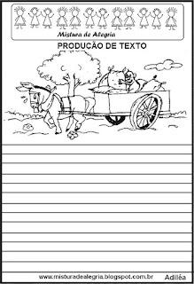 Produção de texto a carrocinha