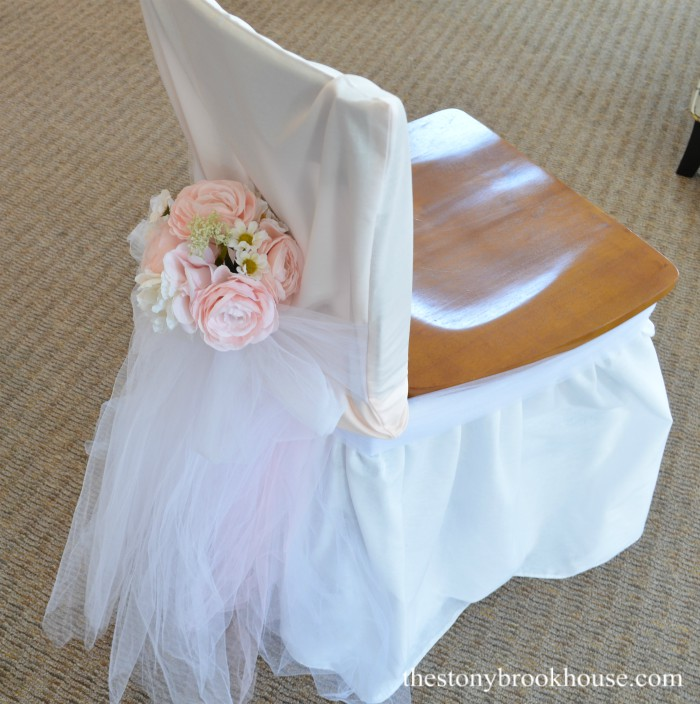 Blushing Bride Seat Cover