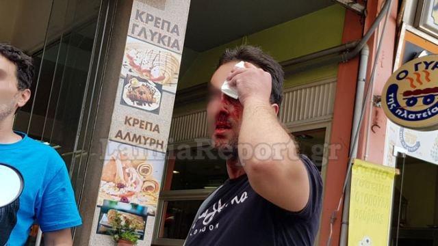 Λαμία: Γύφτοι «άνοιξαν» κεφάλια με καδρόνια στην πλατεία Πάρκου!