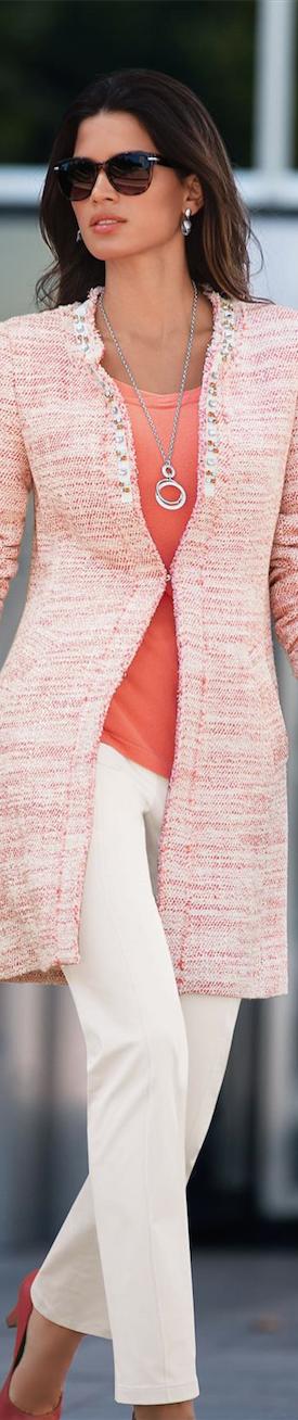 MADELEINE Tweed Coat