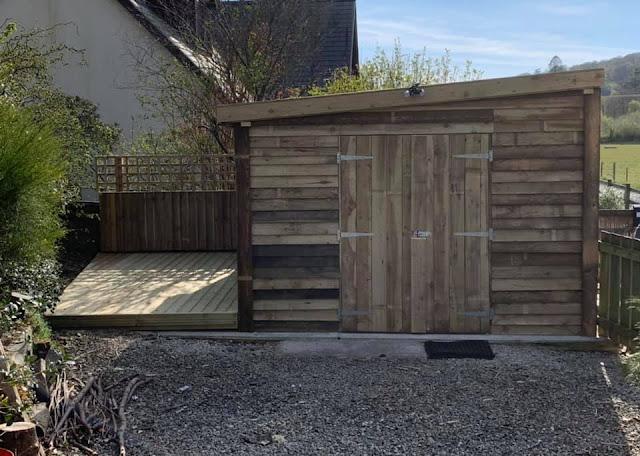 custom sheds Machynlleth
