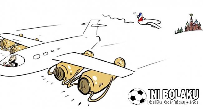 Melalui Gambar Kartun, Benzema Sindir Pelatih Prancis