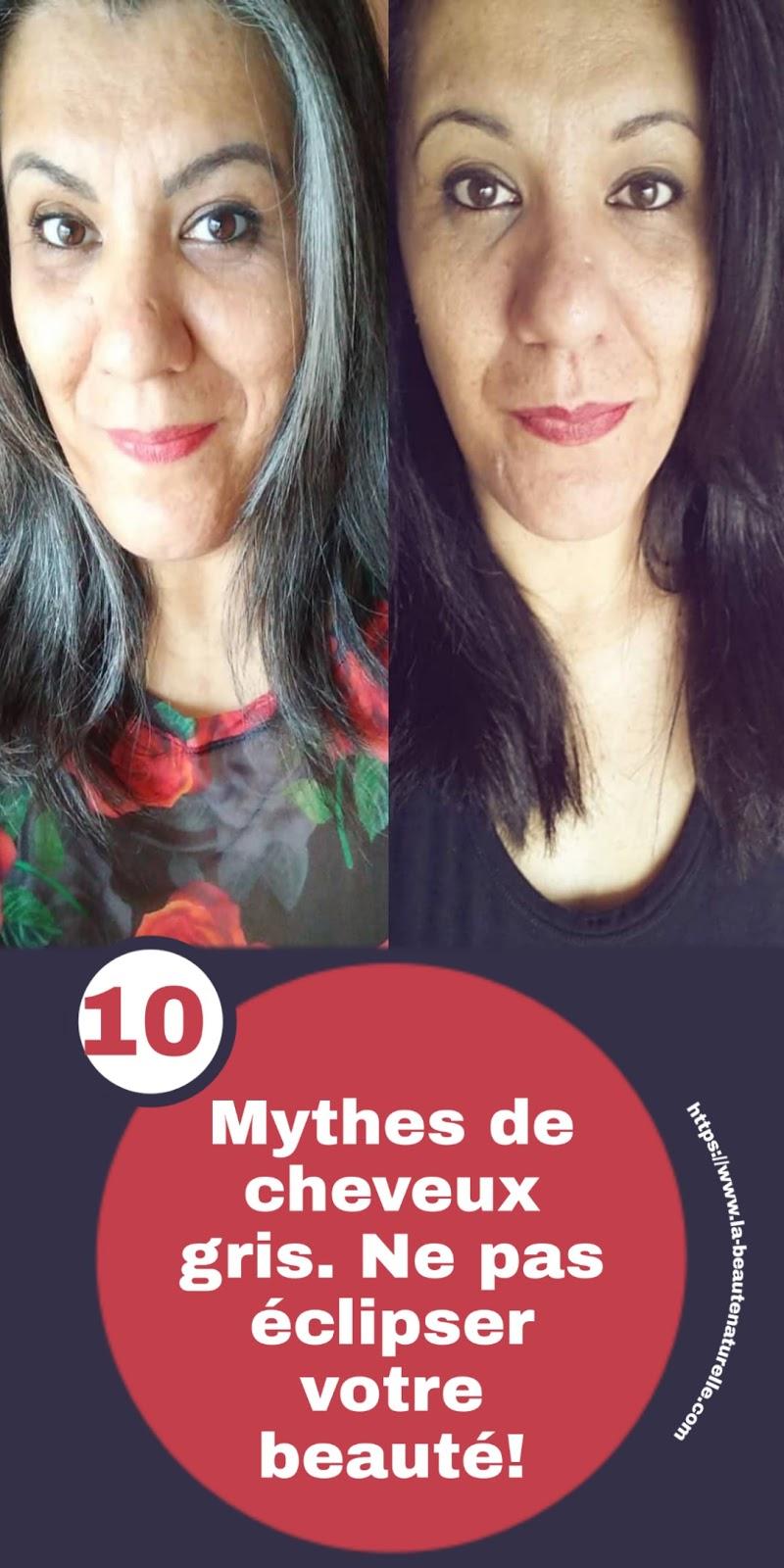 10 Mythes de cheveux gris. Ne pas éclipser votre beauté!