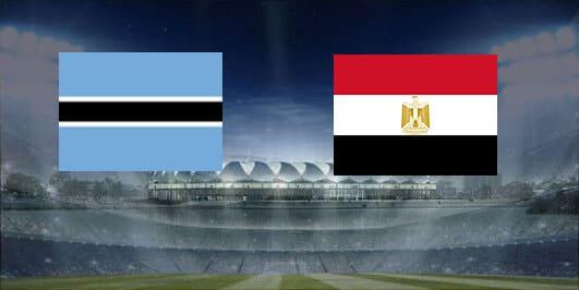 مباراة مصر وبتسوانا بتاريخ 14-10-2019 مباراة ودية