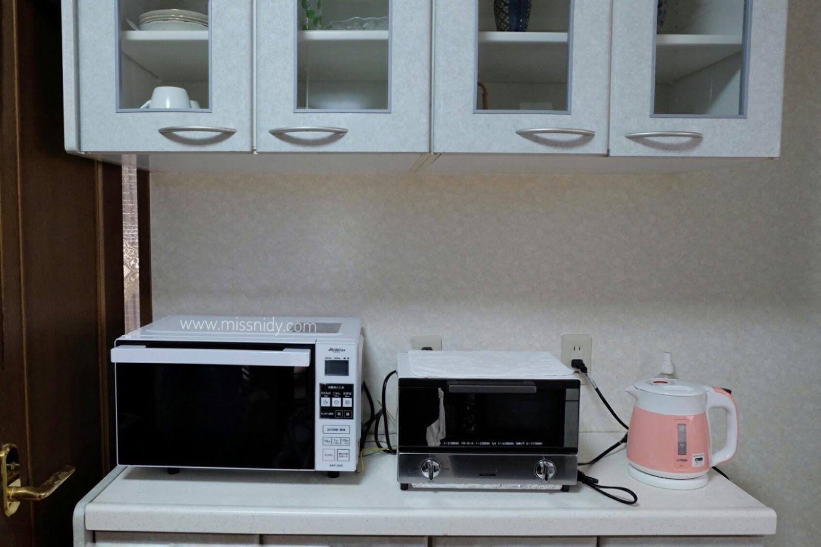 airbnb ada dapur di osaka