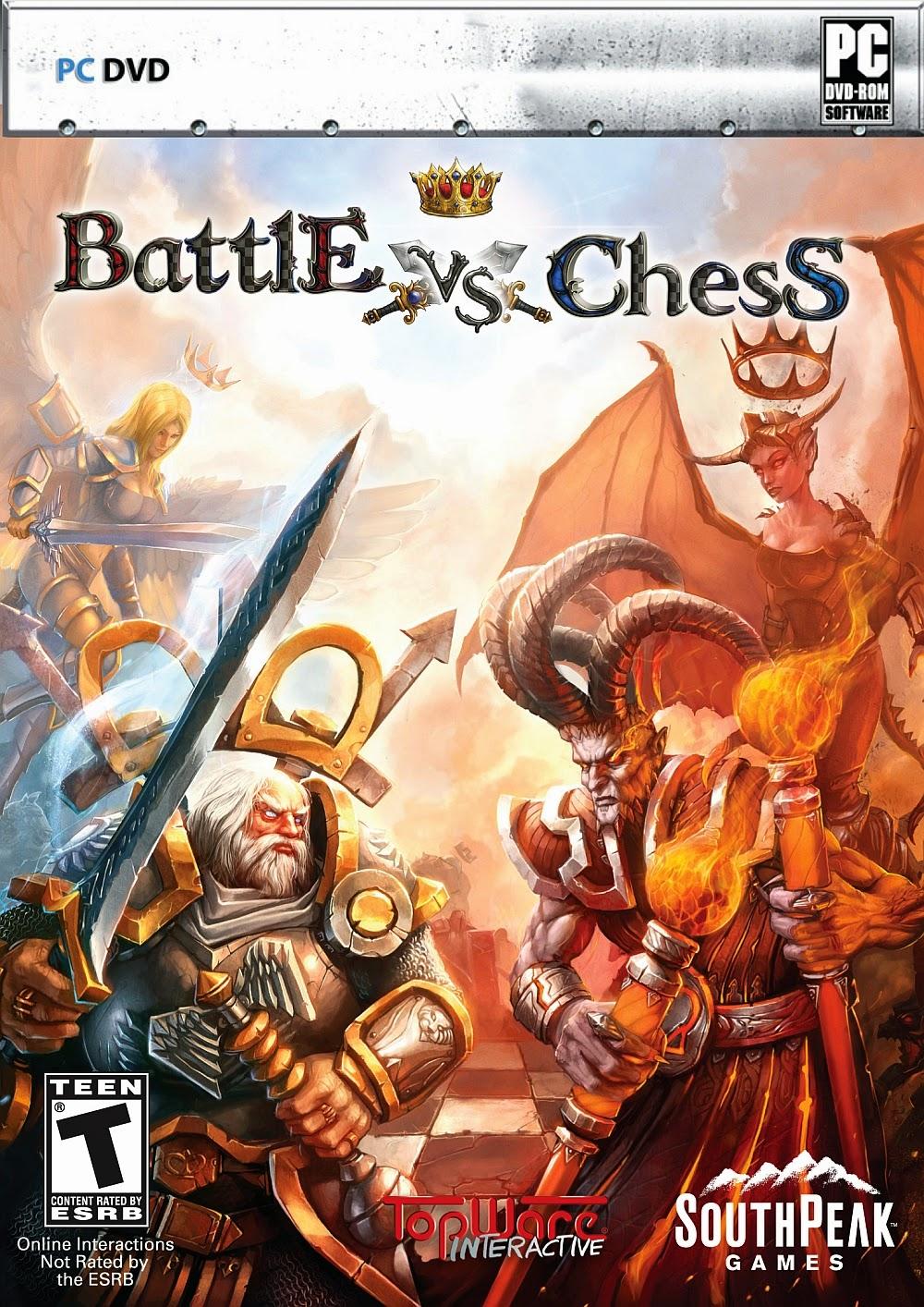 تحميل لعبة الشطرنج المجسمه والمتحركه Download Battle vs. Chess