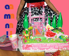 3D Barbie Cakes at Red Ribbon