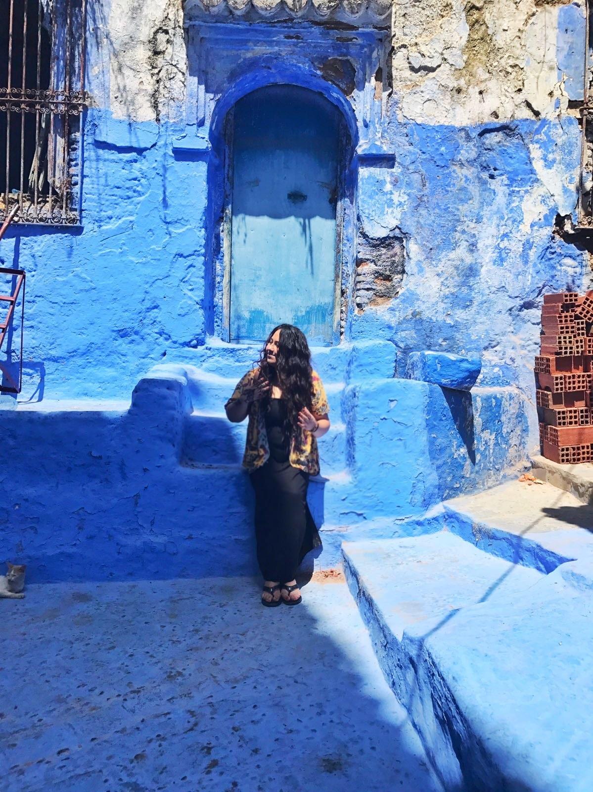 Chefchaouen Morocco Blogger