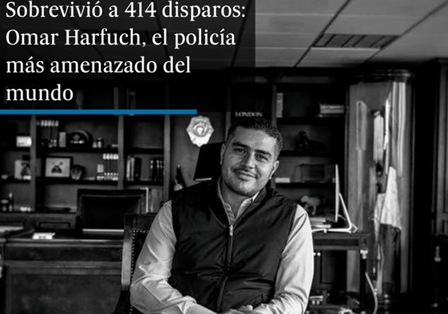 414 disparos con Barret, Lanzagranadas y bombas de fragmentación ,así vive Omar García Harfuch en una prolongación de su despacho y sin ver a sus hijas