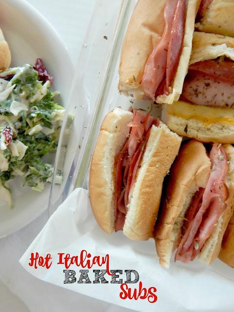 Translations Into Italian: Ally's Sweet & Savory Eats: Hot Italian Baked Subs