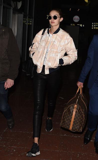 Gigi Hadid, à Paris - 27 Novembre 2016