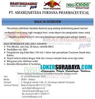 Walk In Interview di PT. Asiasejahtera Perdana Pharmaceutical November 2019
