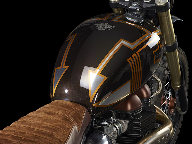 Triumph Bonneville By Ton-Up Garage Hell Kustom