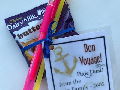 Simple Disney Cruise pixie dust idea