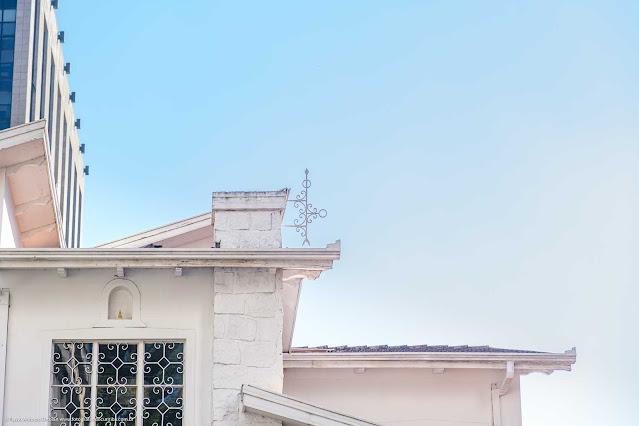 Uma casa na Rua da Glória - detalhe ornamento de ferro