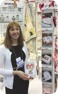 Wenche at Quilt Market 2013