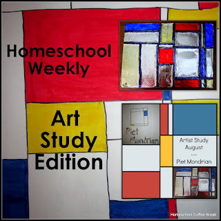 Homeschool Weekly - Art Study Edition on Homeschool Coffee Break @ kympossibleblog.blogspot.com