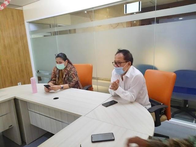 HPN 2021 di Ancol, Panitia Pusat HPN Temui Kominfotik Pemprov DKI Jakarta