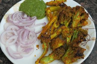 Tandoori Broccoli | Tandori Gobhi Tikka/Broccoli | foddiescorner