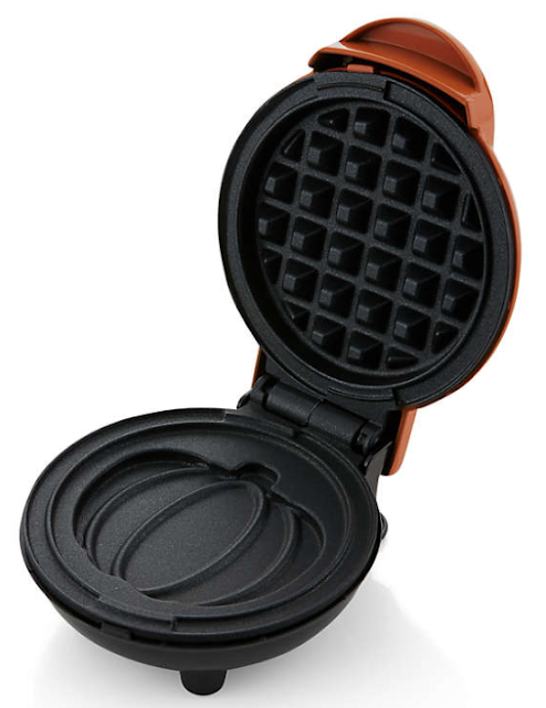 Pumpkin Mini Waffle Maker
