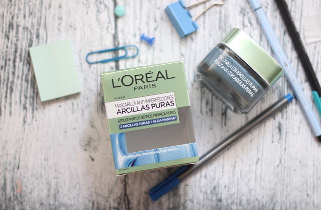 photo-Loreal-paris-mascarillas-arcillas-puras-azul-antiimperfecciones-poros-alga-marina