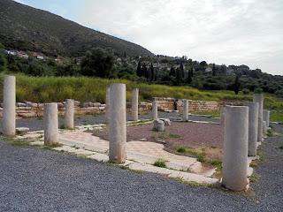 Στοά Κρεοπωλείου στην Αρχαία Μεσσήνη