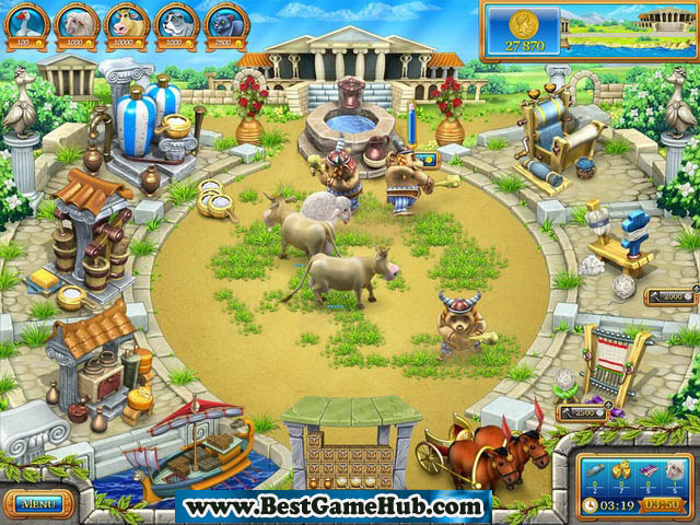 Farm Frenzy - Ancient Rome PC Game 100 % Working