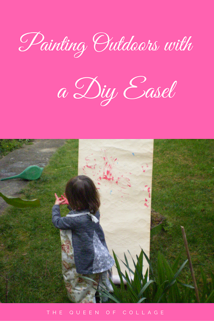 Painting Outdoors with a DIY Easel