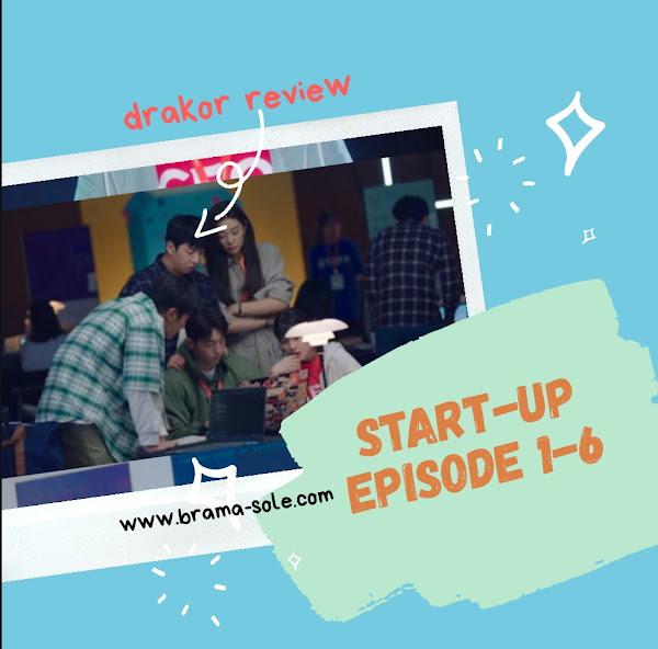 Drakor Start-Up Episode 1-6
