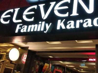 eleven family karaoke medan