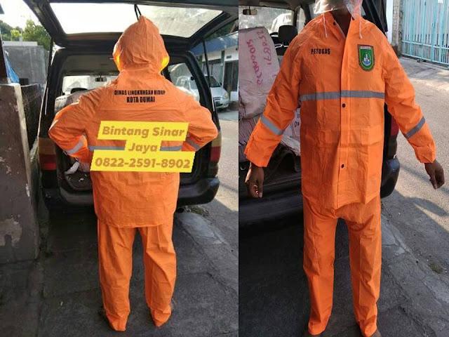 Jas Hujan Custom Sablon WA : 0822-2591-8902