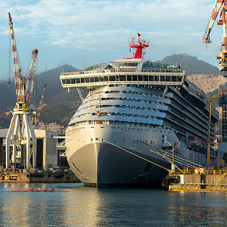 Fincantieri Reports Financials for 2019 - Scarlet Lady one of  13 cruise ships delivered in 2019 temporarily suspend operations due to coronavirus