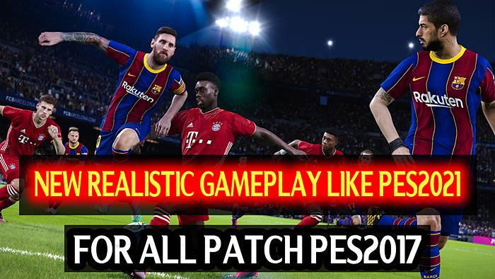 Realistic Gameplay Like PES 2021